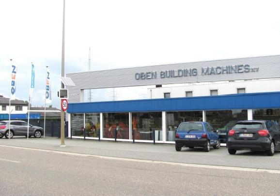 Oben building machines nv